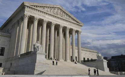 A sede da Suprema Corte dos Estados Unidos.