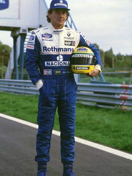 Ayrton Senna em uma imagem de arquivo.