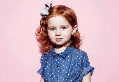A pequena Pixie Curtis: exposição gera sucesso e polêmica.