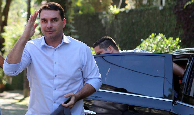 O senador eleito Flávio Bolsonaro.
