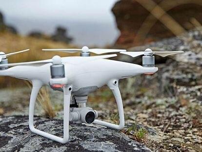 O modelo de drone que será comercializado pela Apple.