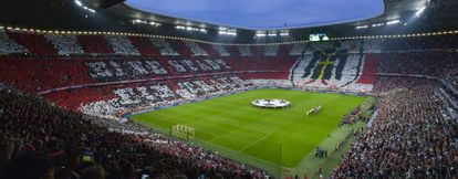 Estado Allianz Arena, do Bayern de Munique.