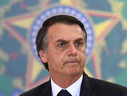 Bolsonaro em Brasília.