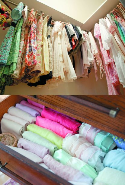 Ao arrumar a roupa, esqueça as estações: no escritório, na loja e no metrô a temperatura é a mesma. Foto: Natsuno Ichigo