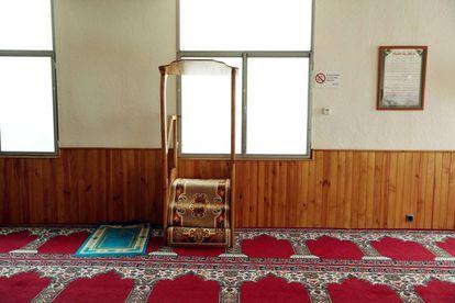 Púlpito de uma das mesquitas de Ripoll onde pregava Abdelbaki.