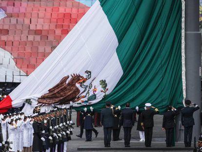 Imagem do desfile de independência na última sexta-feira.