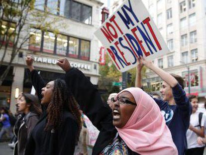 Nervosismo toma conta de algumas minorias nos EUA diante da chegada do novo presidente ao poder