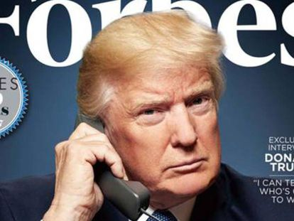 Trump despenca no ranking das grandes fortunas da 'Forbes'