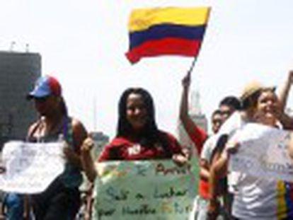 A deputada María Corina Machado também foi detida, segundo seu porta-voz