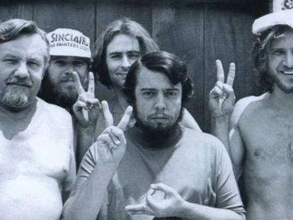 A imagem de Harrison Ford quando era marceneiro