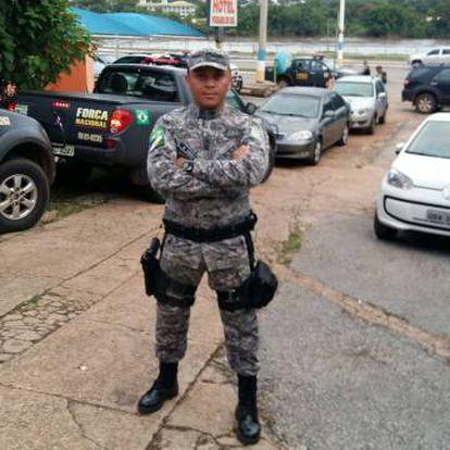 Hélio Andrade, o agente da Força Nacional morto por traficantes na Maré.