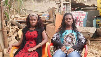 As irmãs de Inocêncio Antônio de Brito, o rapper Drux.