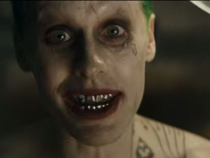 """Jared Leto, na pele do Coringa em 'Esquadrão Suicida""""."""