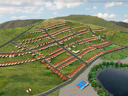 Um dos projetos dos alunos de arquitetura da Unicamp para Bento Rodrigues.