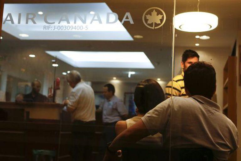 Escritório da Air Canada em Caracas.