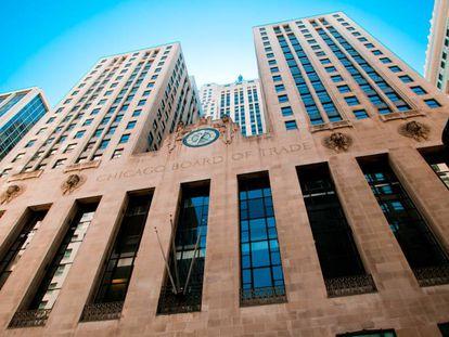 O Chicago Board of Trade.