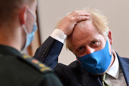 O primeiro-ministro Boris Johnson na segunda-feira, 13 de julho.