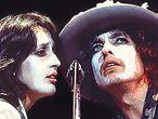 Bob Dylan y Joan Baez en una escena de 'Rolling Thunder Revue', de Martin Scorsese.