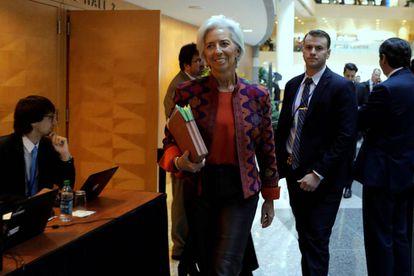 Christine Lagarde, diretora geral do FMI.
