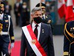 El nuevo presidente de Per�, Francisco Sagasti. 17/11/2020
