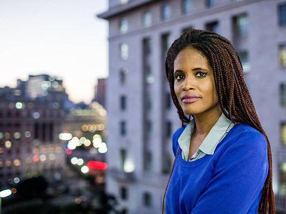 Djamila Ribeiro, mestre em filosofia política, ativista feminista e secretária-adjunta de Direitos Humanos de São Paulo.