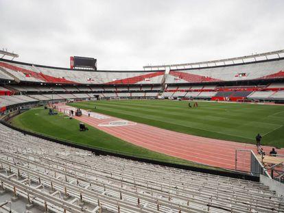 Segundo jogo da final será no estádio Monumental de Nuñez.