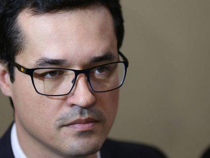 O procurador Deltan Dallagnol, principal nome da força-tarefa da Lava Jato em Curitiba.