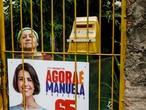 Eleitora de Manuela D'Ávila em Porto Alegre.