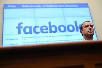 Mark Zuckerberg, em Washington em 2019.