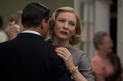 Cate Blanchett em 'Carol'.