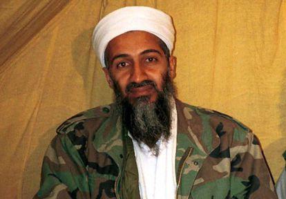 Foto sem data de Osama Bin Laden.