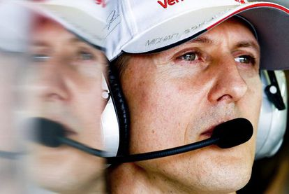 Michael Schumacher no circuito Albert Park