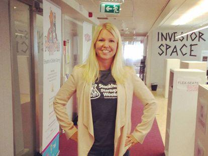 A física sueca Elina Berglund, criadora de Natural Cycles.