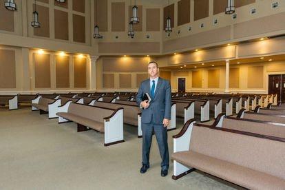 Tony Spell, pastor da igreja evangélica do Tabernáculo, em Baton Rouge.