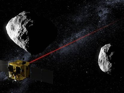 A missão estará em contato com a Terra graças ao laser.
