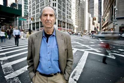 Philip Roth, em Nova York, em 23 de maio de 2007.