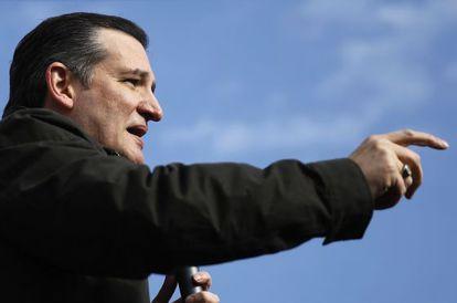Ted Cruz, o grande rival de Trump