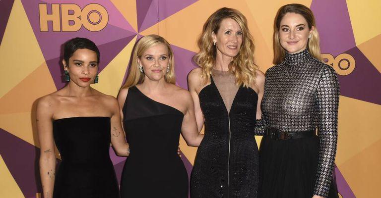 As atrizes de 'Big Little Lies' no Globo de Ouro.