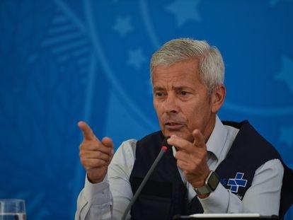 O secretário-executivo do Ministério da Saúde, João Gabbardo dos Reis, neste sábado.