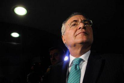 Renan Calheiros no dia 7 de junho, no Senado.
