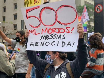 O maior milagre das manifestações contra Bolsonaro foi terem sido pacíficas
