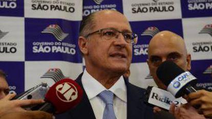 Governador de São Paulo, Geraldo Alckmin.