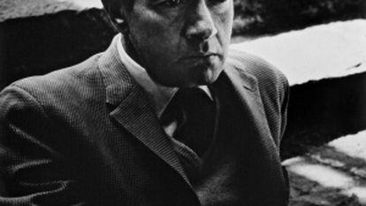 Juan Rulfo na Cidade do México nos anos 50.
