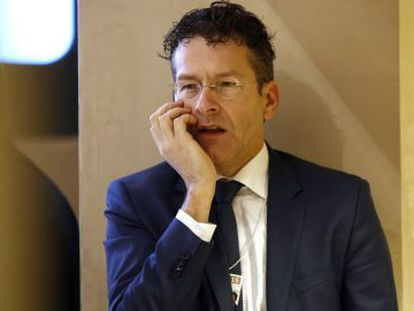 Jeroen Dijsselbloem, presidente do Eurogrupo, esta semana no Fórum de Davos