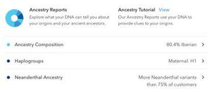Basta um tubo de saliva para conhecer a herança genética.