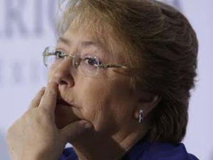 A presidenta chilena, Michelle Bachelet.