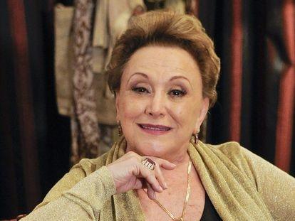 A atriz Nicette Bruno em cena da novela 'Salve Jorge', de 2012.