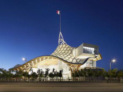 O projeto-estrela de Shigeru Ban é a segunda sede do Centro Pompidou, na cidade francesa de Metz, inaugurada em 2010.