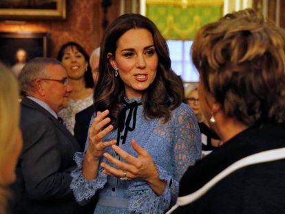 Kate Middleton, em 10 de outubro.