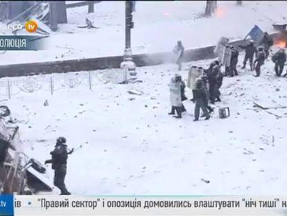 As primeiras vítimas fatais agravam o conflito de rua da Ucrânia